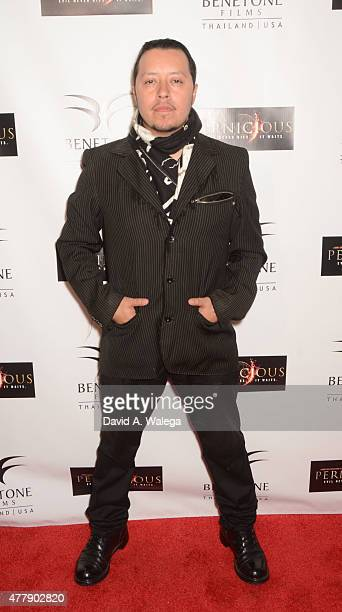 Actor Carlos Ramirez attends the 'Pernicious' premiere at Arena Cinema Hollywood on June 19 2015 in Hollywood California
