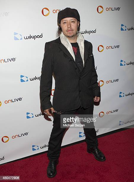 Actor Carlos Ramirez attends Wikipad OnLive E3 Party at Elevate Lounge on June 11 2014 in Los Angeles California