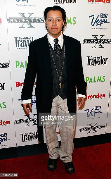 Actor Carlos Ramirez during the 2008 CineVegas film festival held at Brenden Theatres inside the Palms Casino Resort at the on June 18 2008 in Las...