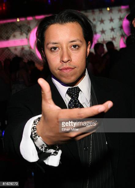 Actor Carlos Ramirez poses at the CineVegas Party during the 2008 CineVegas film festival held at The Beatles Revolution Lounge at The Mirage Hotel...