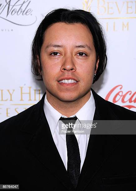 Actor Carlos Ramírez arrives at the Clarity Theater for the 9th annual Beverly Hills Film Festival Opening Night Gala on April 1 2009 in Beverly...