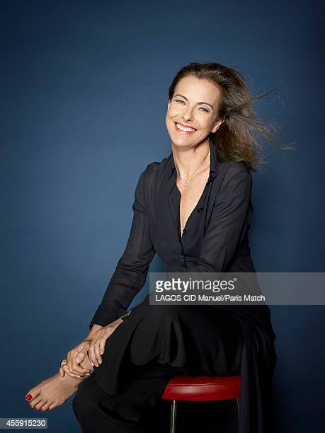 Actor Carole Bouquet is photographed for Paris Match on September 9, 2014 in Paris, France.