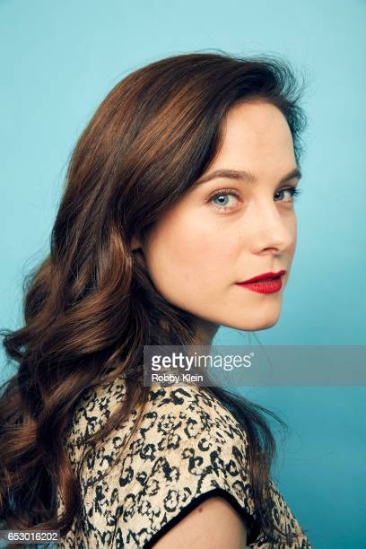 Actor Caroline Dhavernas of 'Easy Living' poses for a portrait at The Wrap and Getty Images SxSW Portrait Studio on March 12 2017 in Austin Texas
