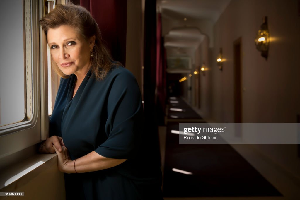 Carrie Fisher, Self assignment, September 3, 2013