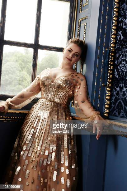 Actor Carrie Hope Fletcher is photographed for Hello magazine on June 28, 2021 in London, England.
