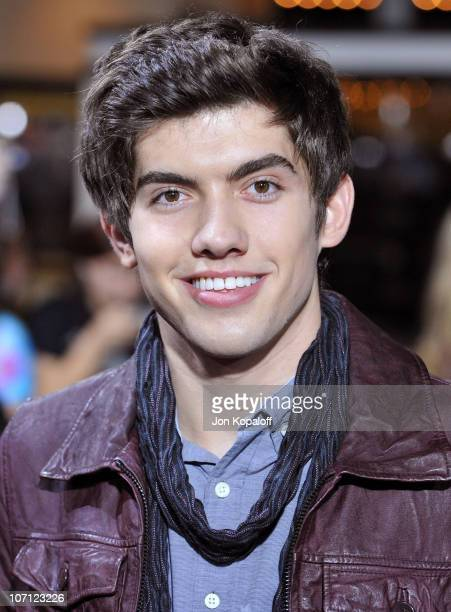 Actor Carter Jenkins arrives at the Los Angeles Premiere jk'The Twilight Saga New Moon' at Mann Bruin Theatre on November 16 2009 in Westwood...