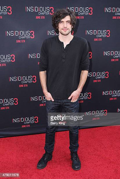 Actor Carter Jenkins attends the premiere of Focus Features' 'Insidious Chapter 3' at the TCL Chinese Theatre on June 4 2015 in Hollywood California
