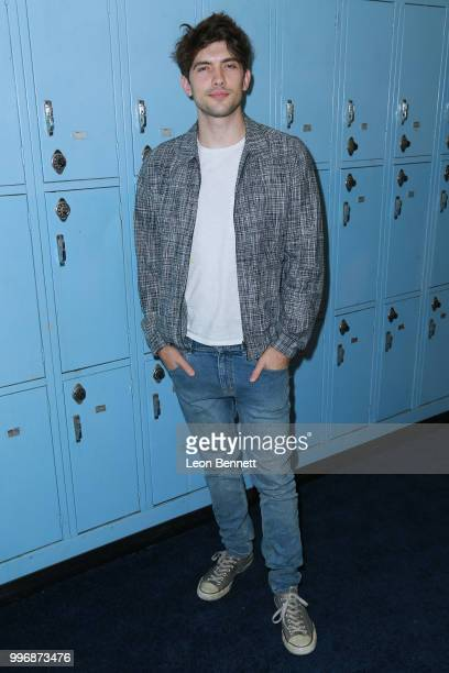 Actor Carter Jenkins attends the Screening Of A24's 'Eighth Grade' Arrivals at Le Conte Middle School on July 11 2018 in Los Angeles California