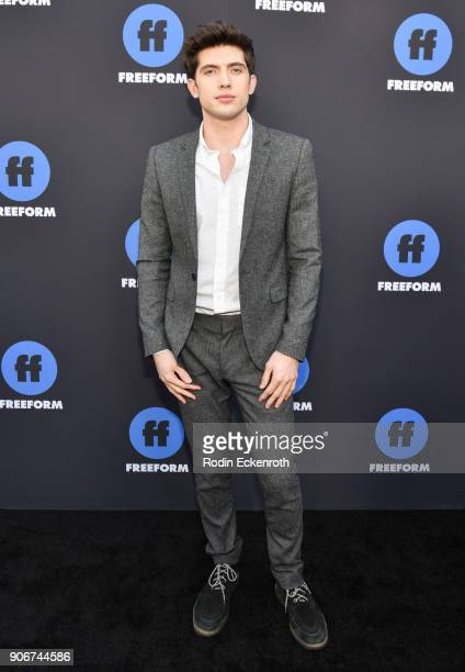 Actor Carter Jenkins of 'Famous In Love' arrives at Freeform Summit on January 18 2018 in Hollywood California