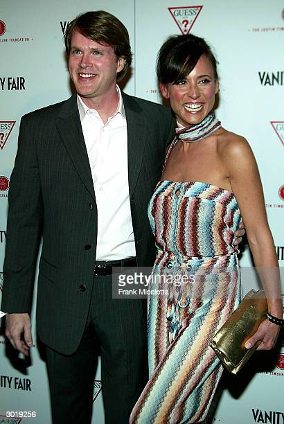 Actor Cary Elwes and wife Lisa Marie attend the Vanity Fair Amped preOscar party to benefit the Justin Timberlake Foundation at the Continental Hyatt...