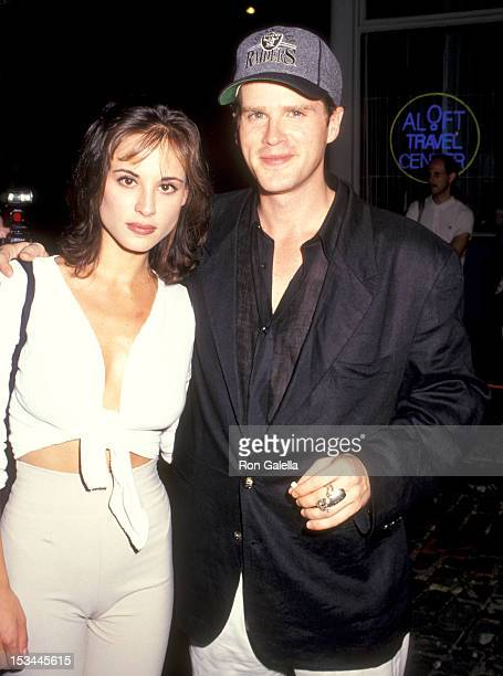 Actor Cary Elwes and wife Lisa Marie Kurbikoff attend the 'Cast and Crew Party for the Movie 'It Could Happend to You' at a Coffee Shop on North...