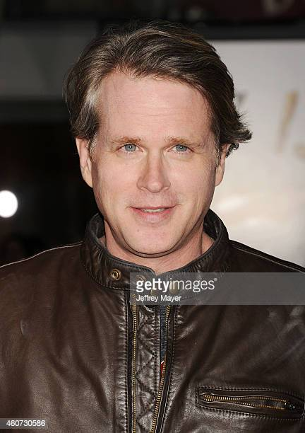 Actor Cary Elwes arrives at the Los Angeles premiere of 'Dumb And Dumber To' at Regency Village Theatre on November 3 2014 in Westwood California