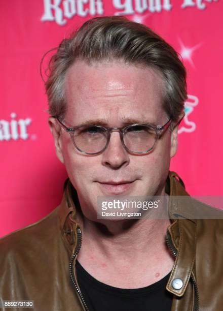 Actor Cary Elwes attends social media influencer Annie LeBlanc's 13th birthday party at Calamigos Beach Club on December 9 2017 in Malibu California