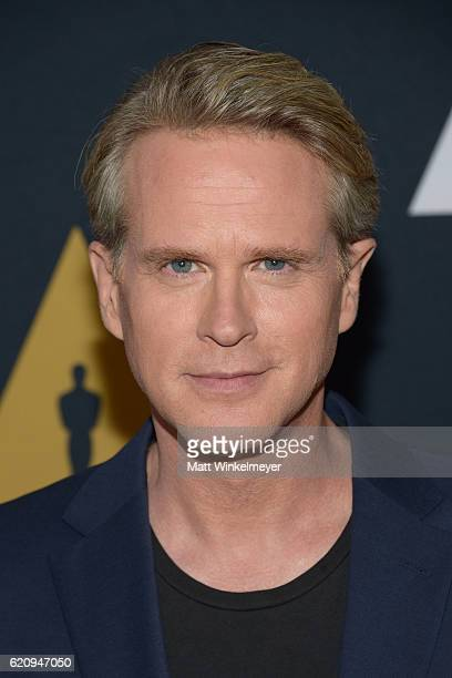 Actor Cary Elwes attends the 2016 Academy Nicholl Fellowships in Screenwriting Awards presentation and live read at Samuel Goldwyn Theater on...