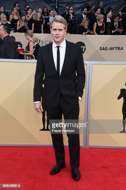 Actor Cary Elwes attends the 24th Annual Screen ActorsGuild Awards at The Shrine Auditorium on January 21 2018 in Los Angeles California