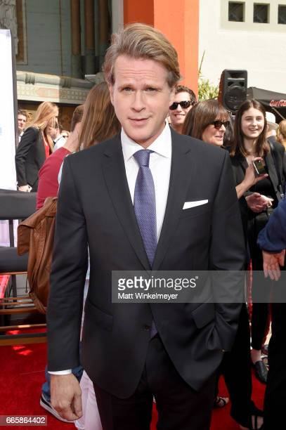 Actor Cary Elwes attends the Carl and Rob Reiner Hand and Footprint Ceremony during the 2017 TCM Classic Film Festival on April 7 2017 in Los Angeles...