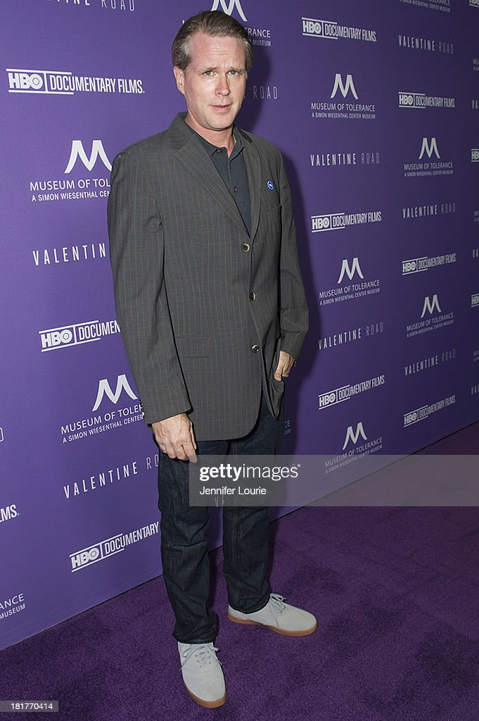 Actor Cary Elwes attends the Los Angeles premiere screening of 'Valentine Road' at The Museum of Tolerance on September 24, 2013 in Los Angeles, California.