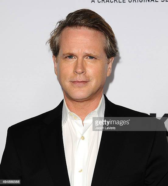 Actor Cary Elwes attends the premiere of The Art of More at Sony Pictures Studios on October 29 2015 in Culver City California