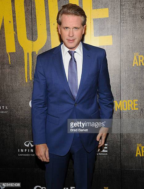 Actor Cary Elwes attends the The Art Of More Season 2 Premiere at Museum Of Arts And Design on November 15 2016 in New York City