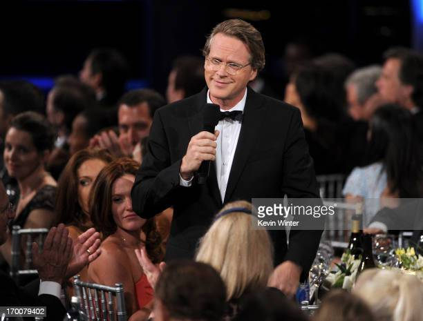 Actor Cary Elwes speaks during the 41st AFI Life Achievement Award Honoring Mel Brooks at Dolby Theatre on June 6 2013 in Hollywood California...