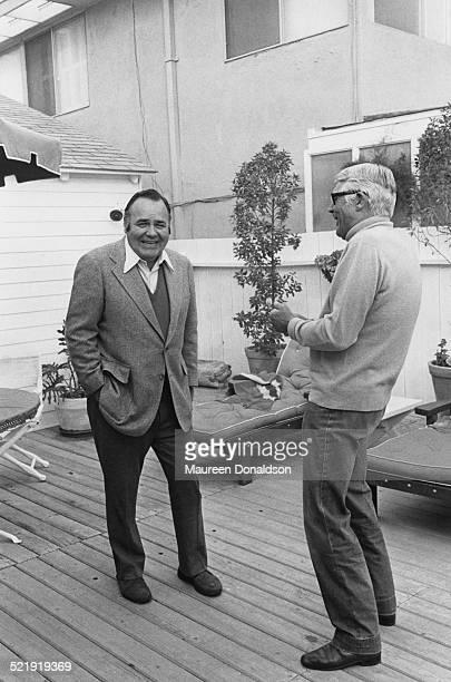 Actor Cary Grant circa 1980