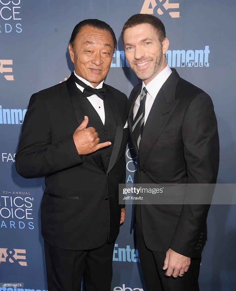 The 22nd Annual Critics' Choice Awards - Red Carpet : Nachrichtenfoto