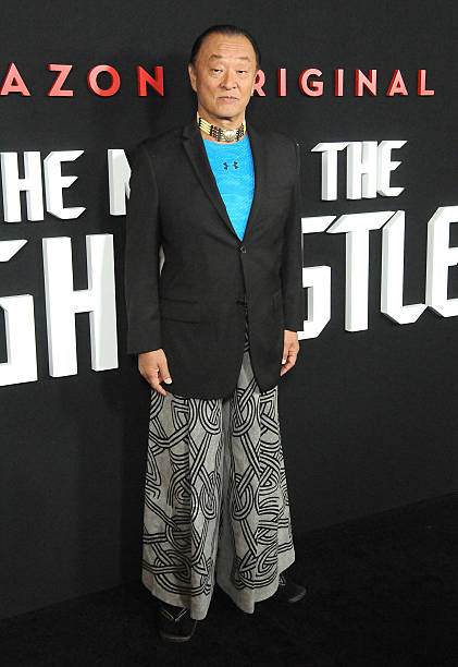 actor cary hiroyuki tagawa attends the premiere of amazons man in the high castle