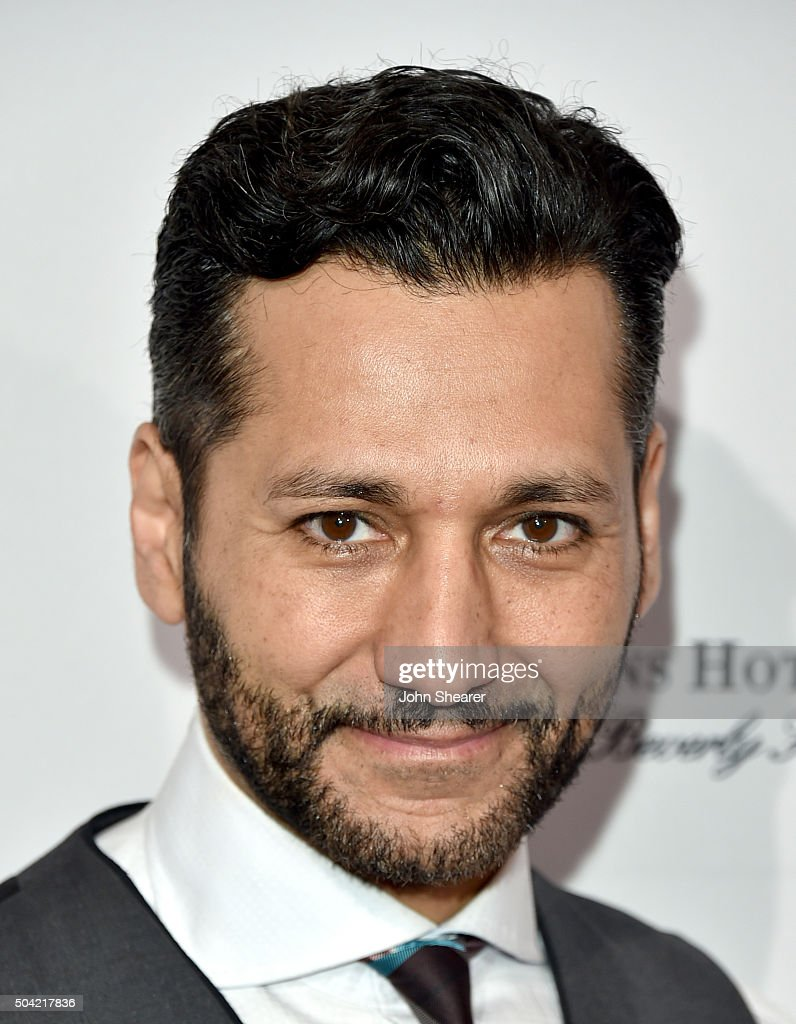 Actor Cas Anvar attends the BAFTA Awards Season Tea Party at Four Seasons Hotel Los Angeles at Beverly Hills on January 9, 2016 in Los Angeles, California.