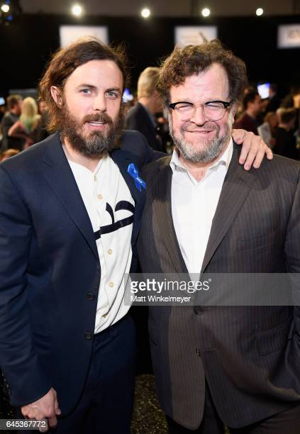 Actor Casey Affleck and Director Kenneth Lonergan attend the 2017 Film Independent Spirit Awards at the Santa Monica Pier on February 25 2017 in...