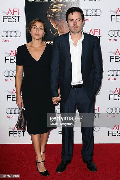 Actor Casey Affleck and wife Summer Phoenix attend the AFI FEST 2013 presented by Audi screening of 'Out of the Furnace' at the TCL Chinese Theatre...