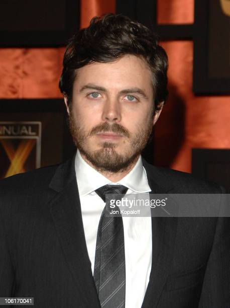 Actor Casey Affleck arrives at the 13th ANNUAL CRITICS' CHOICE AWARDS at the Santa Monica Civic Auditorium on January 7 2008 in Santa Monica...
