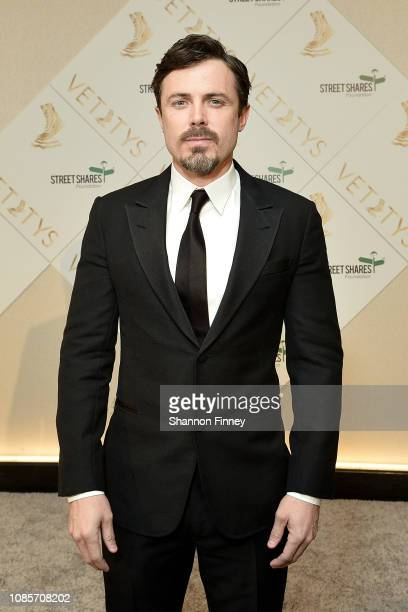 Actor Casey Affleck arrives at the 4th Annual Vetty Awards at The Watergate Hotel on January 20, 2019 in Washington, DC.