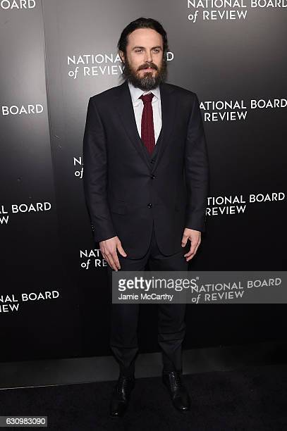 Actor Casey Affleck attends the 2016 National Board of Review Gala at Cipriani 42nd Street on January 4 2017 in New York City
