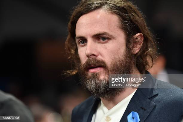 Actor Casey Affleck attends the 2017 Film Independent Spirit Awards at the Santa Monica Pier on February 25 2017 in Santa Monica California