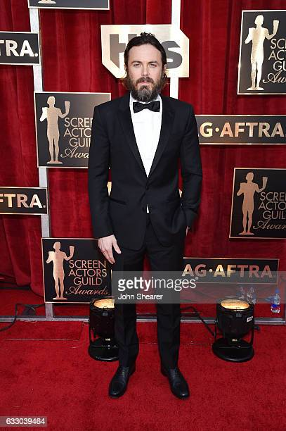 Actor Casey Affleck attends The 23rd Annual Screen Actors Guild Awards at The Shrine Auditorium on January 29 2017 in Los Angeles California