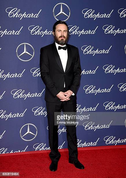 Actor Casey Affleck attends the 28th Annual Palm Springs International Film Festival Film Awards Gala at the Palm Springs Convention Center on...