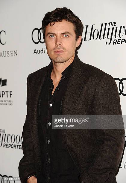 Actor Casey Affleck attends the 2nd annual Reel Stories Real Lives benefiting the Motion Picture Television Fund at Milk Studios on October 20 2012...
