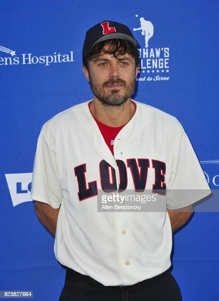 Actor Casey Affleck attends the 5th Annual Ping Pong 4 Purpose on July 27 2017 in Los Angeles California