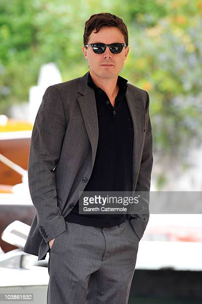 Actor Casey Affleck attends the 67th Venice Film Festival on September 6 2010 in Venice Italy