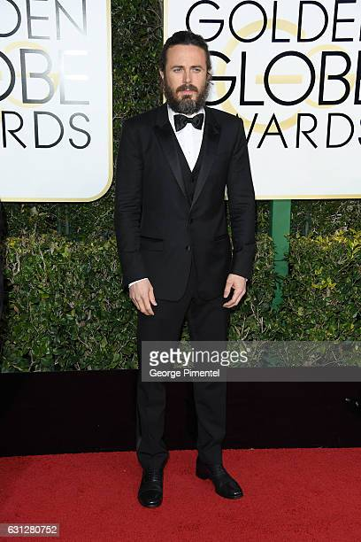 Actor Casey Affleck attends the 74th Annual Golden Globe Awards at The Beverly Hilton Hotel on January 8 2017 in Beverly Hills California
