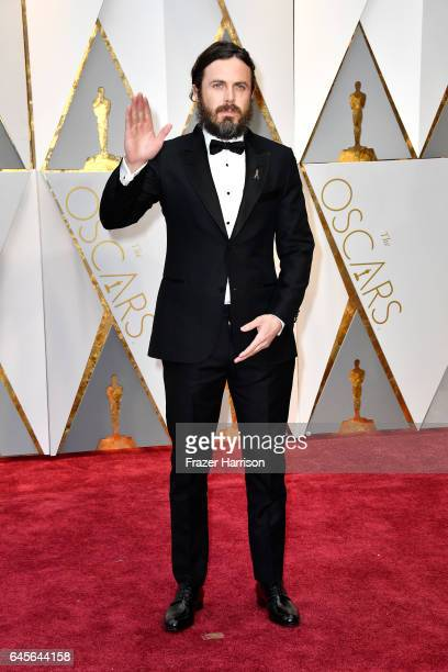 Actor Casey Affleck attends the 89th Annual Academy Awards at Hollywood Highland Center on February 26 2017 in Hollywood California