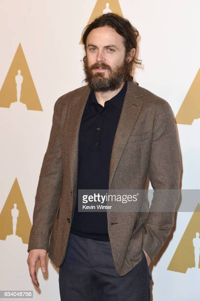 Actor Casey Affleck attends the 89th Annual Academy Awards Nominee Luncheon at The Beverly Hilton Hotel on February 6 2017 in Beverly Hills California