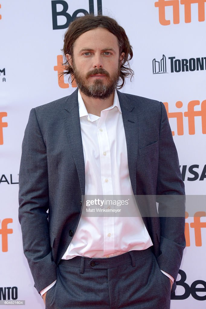 Actor Casey Affleck attends the 'Manchester by the Sea' premiere during the 2016 Toronto International Film Festival at Princess of Wales Theatre on September 13, 2016 in Toronto, Canada.
