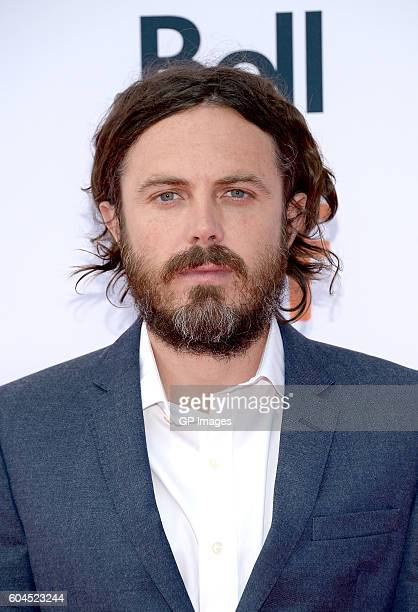 Actor Casey Affleck attends the 'Manchester by the Sea' premiere during the 2016 Toronto International Film Festival at Princess of Wales Theatre on...