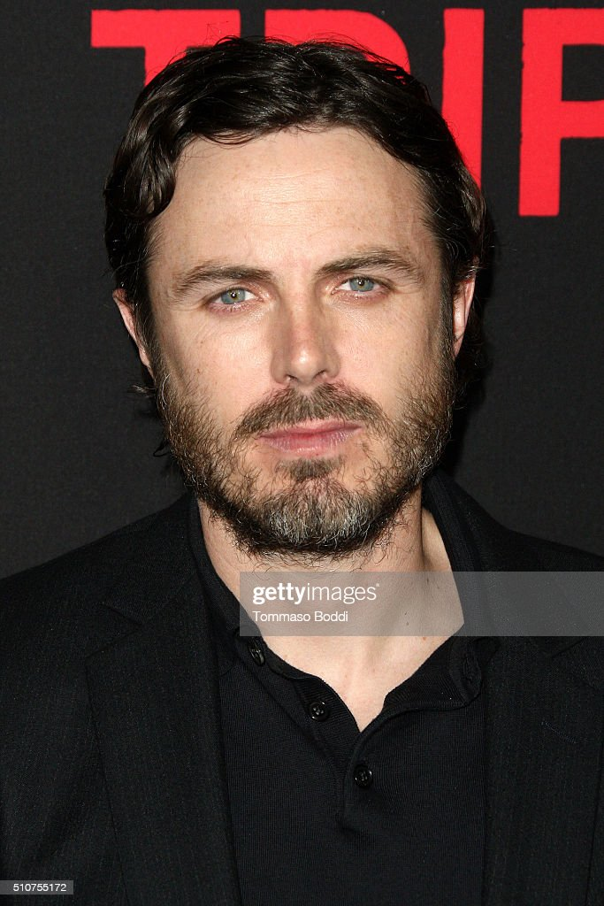 Actor Casey Affleck attends the premiere of Open Road's 'Triple 9' held at Regal Cinemas L.A. Live on February 16, 2016 in Los Angeles, California.