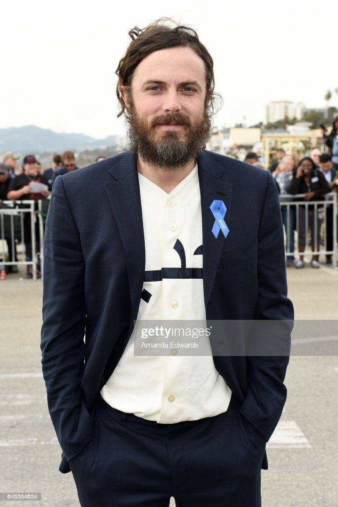 Actor Casey Affleck during the 2017 Film Independent Spirit Awards at the Santa Monica Pier on February 25, 2017 in Santa Monica, California.