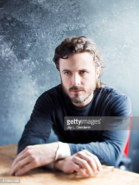 Actor Casey Affleck from the film 'Manchester by the Sea' poses for a portrait at the 2016 Sundance Film Festival on January 24, 2016 in Park City,...