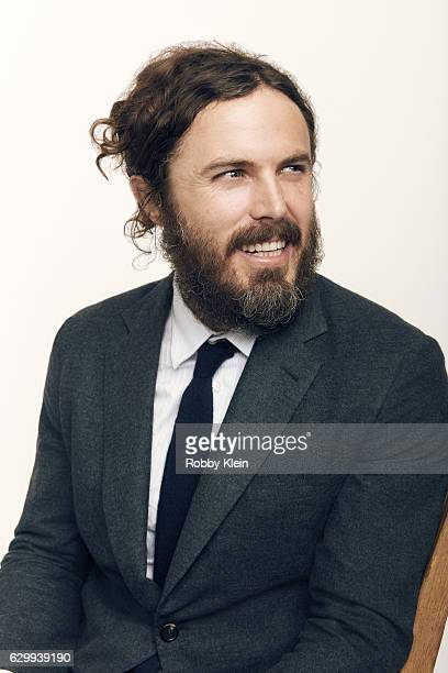 Actor Casey Affleck is photographed at the 22nd Critics Choice for Portrait Session on December 11 2016 in Santa Monica California
