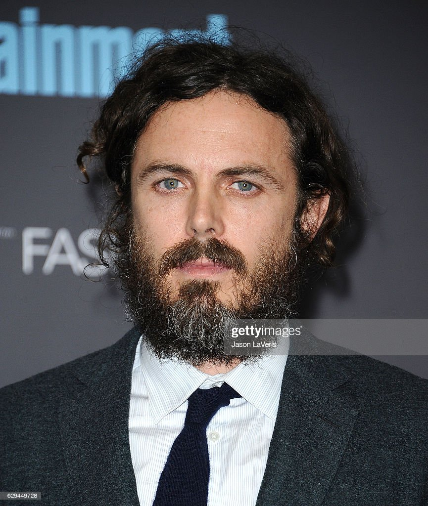 Actor Casey Affleck poses in the press room at the 22nd annual Critics' Choice Awards at Barker Hangar on December 11, 2016 in Santa Monica, California.