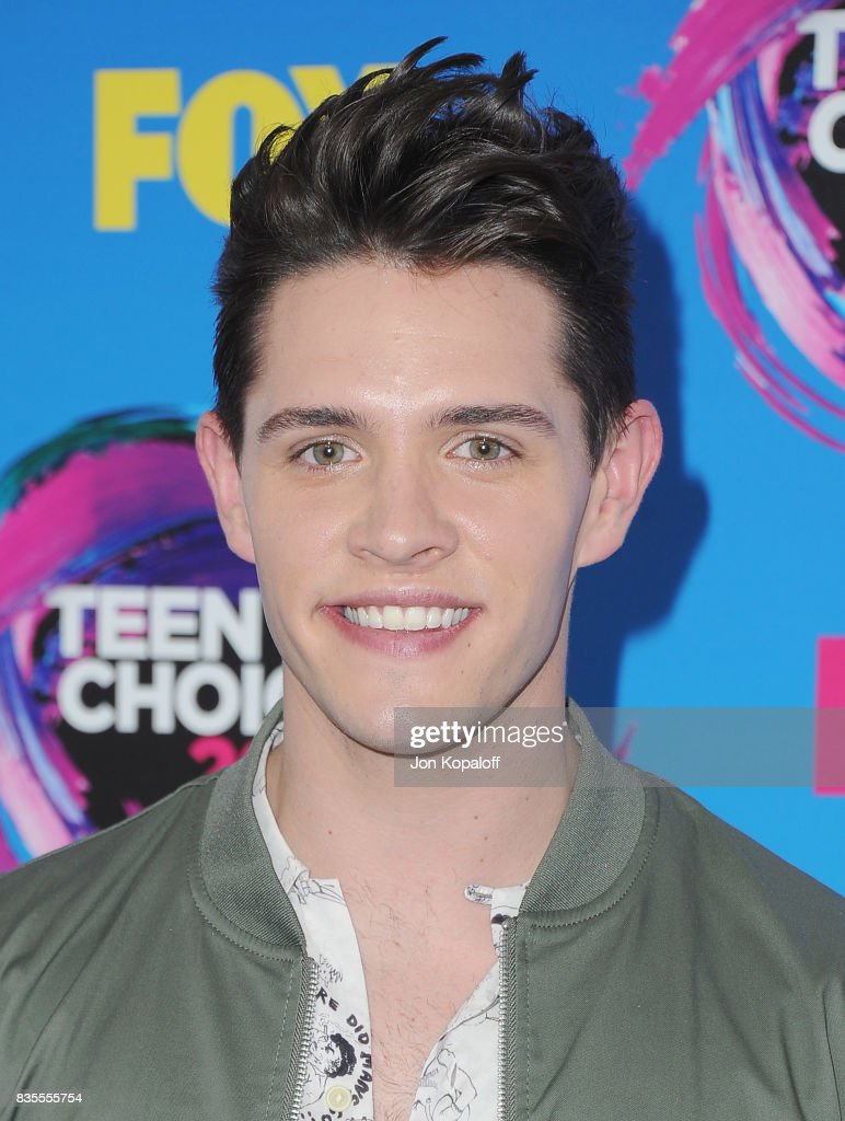 Actor Casey Cott arrives at the Teen Choice Awards 2017 at Galen Center on August 13, 2017 in Los Angeles, California.